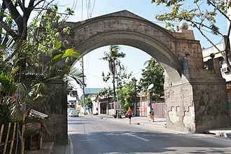 Valenzuela, Metro Manila - Stone arch in barangay Arkong Bato built by the Americans in 1910, which serves as the boundary marker to the old town of Polo.