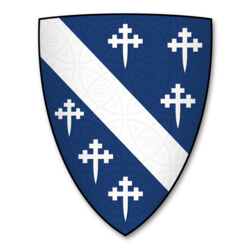 Arms of the Cheyne Clan of Scotland.png