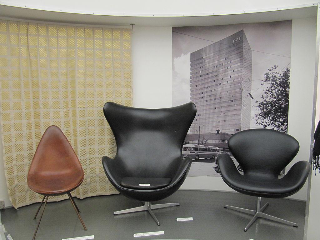 Arne jacobsen drop chair - File Arne Jacobsen Drop Egg And Swan Jpg