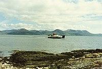 Arran and the ferry from Claonaig.jpg