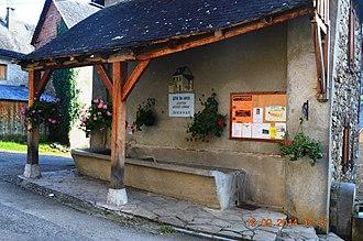 Arrien-en-Bethmale - The Lavoir (Public Laundry)