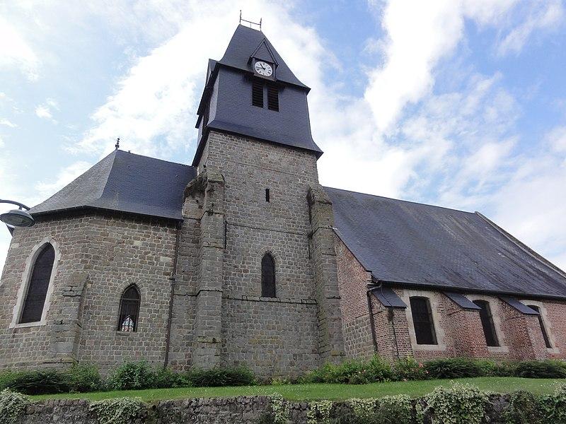 Artemps (Aisne) église Saint Martin