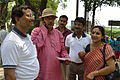 Arup Roy with Nisana Foundation Dignitaries - Summer Camp - Sibpur BE College Model High School - Howrah 2013-06-09 9699.JPG