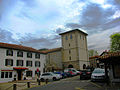 Ascain Place de l'église.JPG