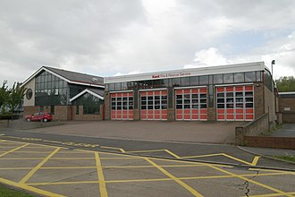 Kent Fire and Rescue Service - K11 - Ashford Fire Station