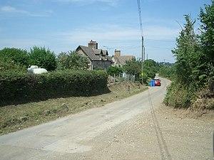 Ashington, Dorset - Image: Ashington Lane geograph.org.uk 206073