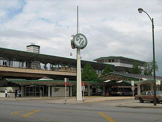 Ashland/63rd station - Image: Ashland 63 CTA