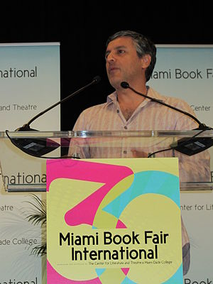 Miami Book Fair International - Reza Aslan at the MBFI 2013.