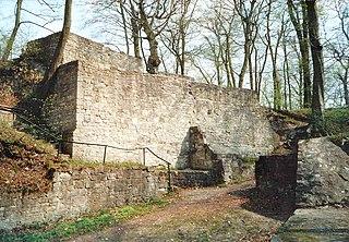 Asseburg (castle) castle ruin