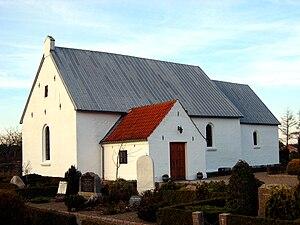 Astrup, Hjørring - Astrup church