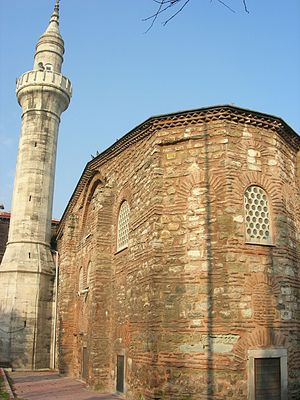 Atik Mustafa Pasha Mosque - The Apse of the building