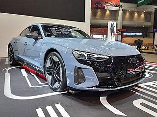 Audi e-tron GT All-electric car manufactured by Audi