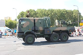 Operational Structure of the Polish Land Forces - Hibneryt anti-aircraft system