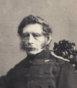 Chief of the Royal Danish Army - Image: August Baggesen E. Lange (cropped)