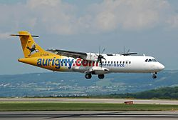 ATR 72-500 der Aurigny Air Services