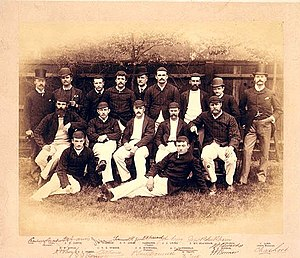 Percy McDonnell - Image: Aus 1888Team