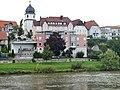Ausblick vom 366 km langen Neckartalradweg auf die Gaststätte Schöne Aussicht - panoramio.jpg