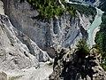 Ausblick von der Aussichtsplattform Conn oder Il Spir - panoramio (1).jpg