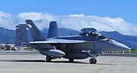 Australian EA-18G at Joint Base Pearl Harbor-Hickam in 2017.jpg
