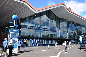 Margaret Court Arena - Entrance to Margaret Court Arena