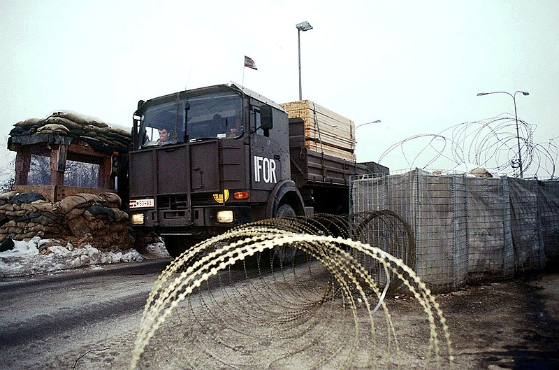 File:Austrian Army military transport truck.JPEG