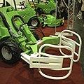 Avant Tecno loader with bale grab, Agriflanders 2009.jpg