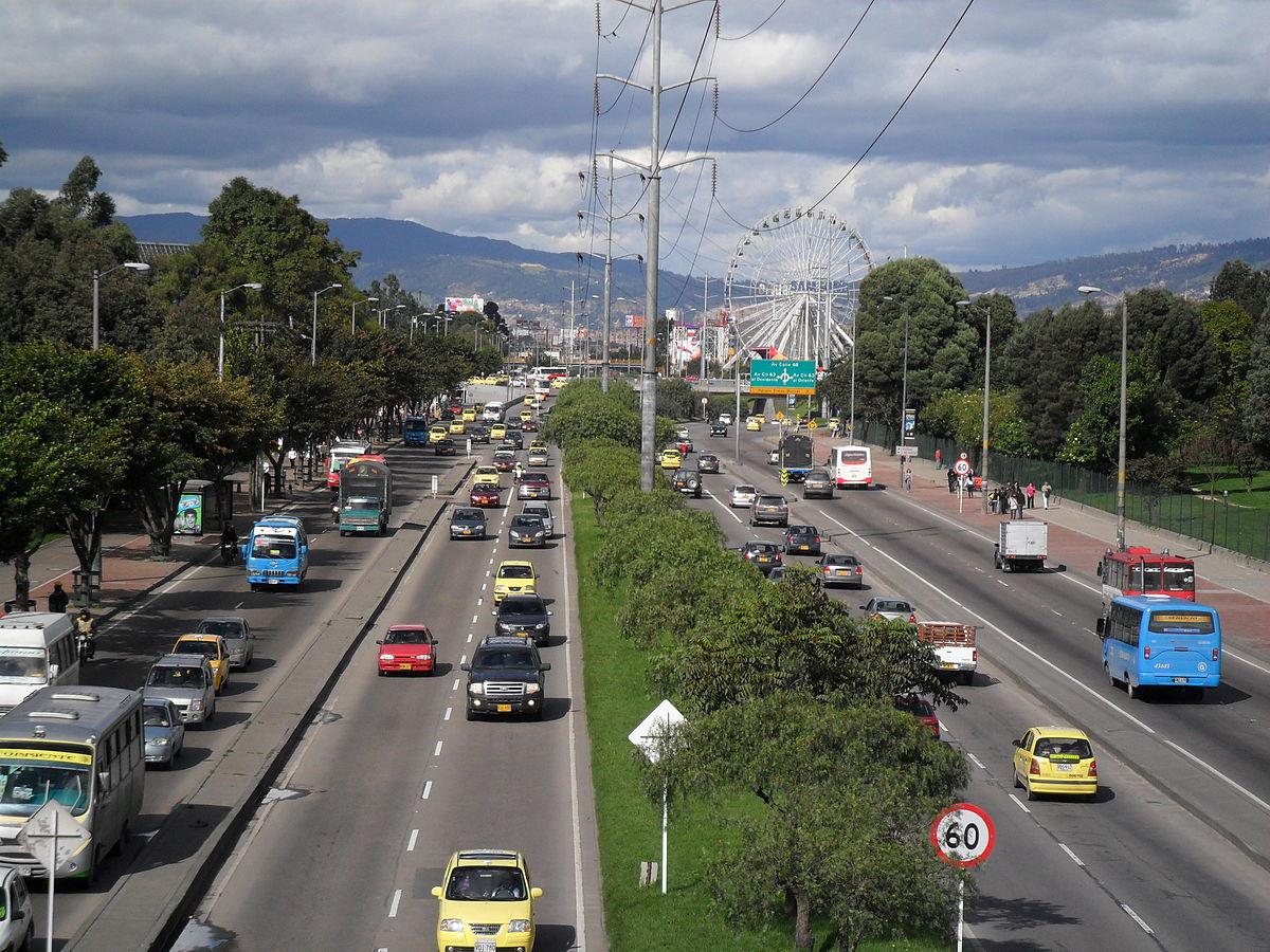 Avenida carrera 68 bogot wikipedia la enciclopedia libre for Barrio ciudad jardin sur bogota