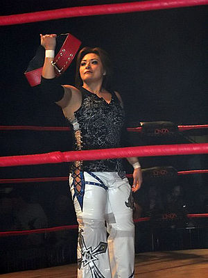Ayako Hamada - Hamada during her reign as TNA Knockouts Tag Team Champion in January 2010