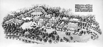 Boston College Main Campus Historic District - The Maginnis master plan