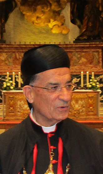 Bechara Boutros al-Rahi - Image: BISHOP card patr bechara boutros rai oct 11th 2014
