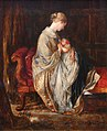 BLW 'The Young Mother' by Charles West Cope, 1845.jpg