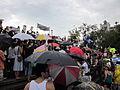 BP Oil Flood Protest NOLA brollys 2.JPG