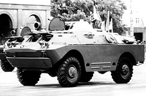 BRDM-2 - BRDM-2 on a military parade, 1 March 1983.