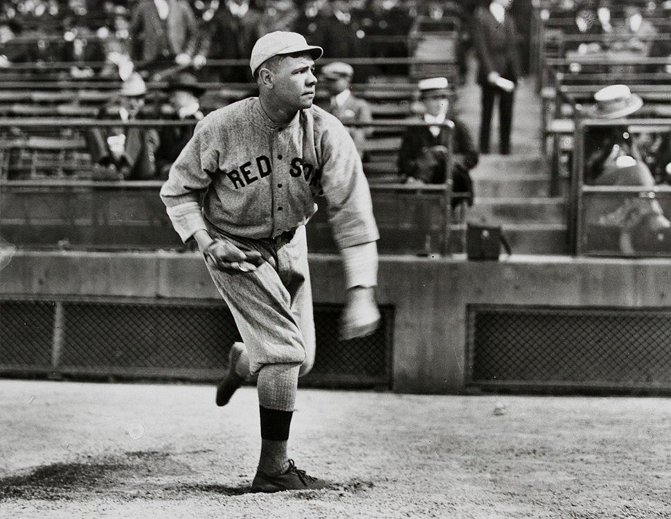 Babe Ruth Boston pitching