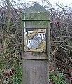 Badger plaque, Glassonby - geograph.org.uk - 1146848.jpg