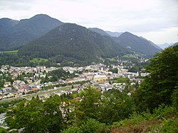 Panorama urbano de Bad Ischl