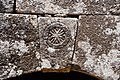 Bafetin (بافتين), Syria - Arch keystone with cross medallion of unidentified structure - PHBZ024 2016 4551 - Dumbarton Oaks.jpg