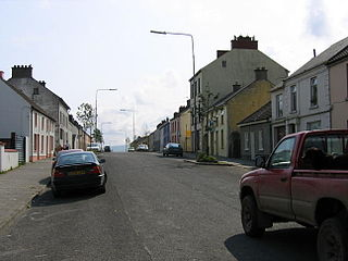 St Johnston Village in Ulster, Ireland
