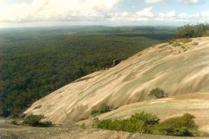 Granite Belt - The massive Bald Rock in Bald Rock National Park.