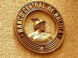 Central Bank of Bolivia - Banco Central de Bolivia logo.