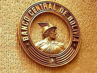 Central Bank of Bolivia - Banco Central de Bolivia logo.