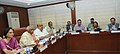 Bandaru Dattatreya chairing the meeting of National Social Security Board, in New Delhi on November 19, 2014. The Secretary, Ministry of Labour and Employment, Smt. Gauri Kumar is also seen.jpg