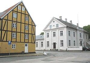 Bandholm - Street in Bandholm town