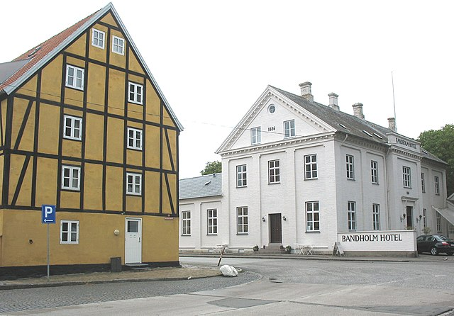 Расположенный на острове Лолланн Bandholm Hotel признан лучшим отелем Дании