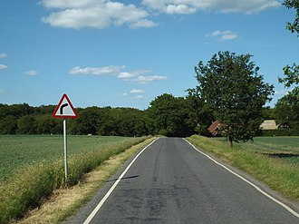 Colliers Hatch - Image: Banks Lane, Colliers Hatch near Epping (geograph 4518618)