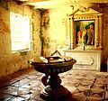 Baptistry of the San Isidro Labrador Church in Lazi, Siquijor.jpg