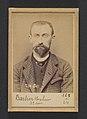 Barbier. Louis, Alexandre. 31 ans, né à Jussecourt (Marne). Comptable. Anarchiste. 27-2-94. MET DP290106.jpg