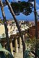 Barcelona - Parc Güell - Gaudí - View East I.jpg