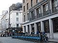 Barclays bike docking station, Panton Street - geograph.org.uk - 2318189.jpg