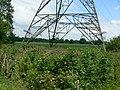 Base of a pylon - geograph.org.uk - 864708.jpg
